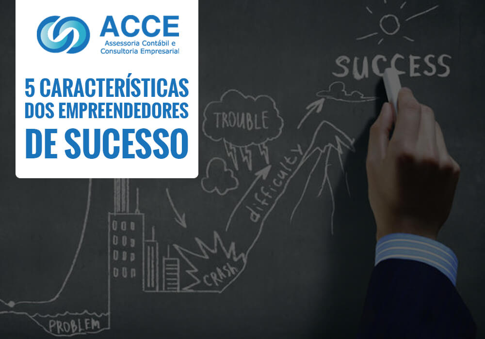 Mentes Criativas - ACCE - 5 Características dos empreendedores de sucesso