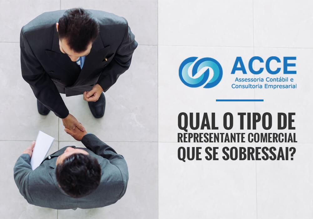 Representante Comerciais - ACCE - Qual o tipo de representante comercial que se sobressai?
