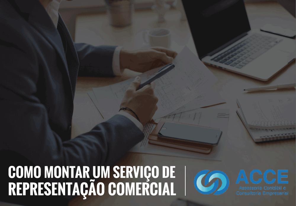 Representação Comercial - ACCE - Como montar um serviço de representação comercial
