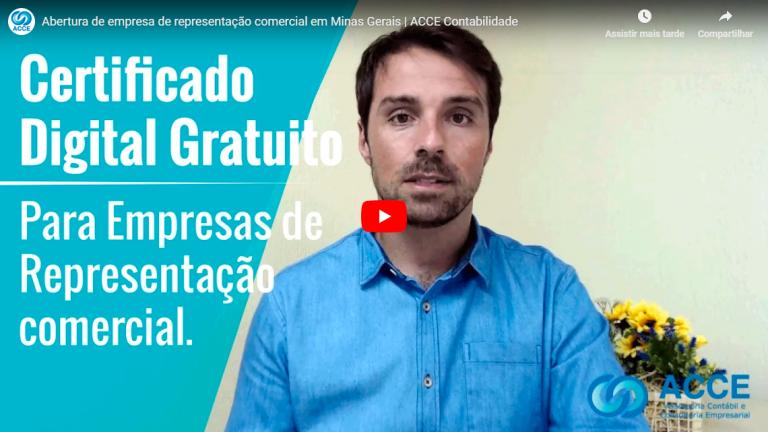 Img Video Certificado Digital Gratuito - ACCE - Abertura de empresa de representação comercial em Minas Gerais