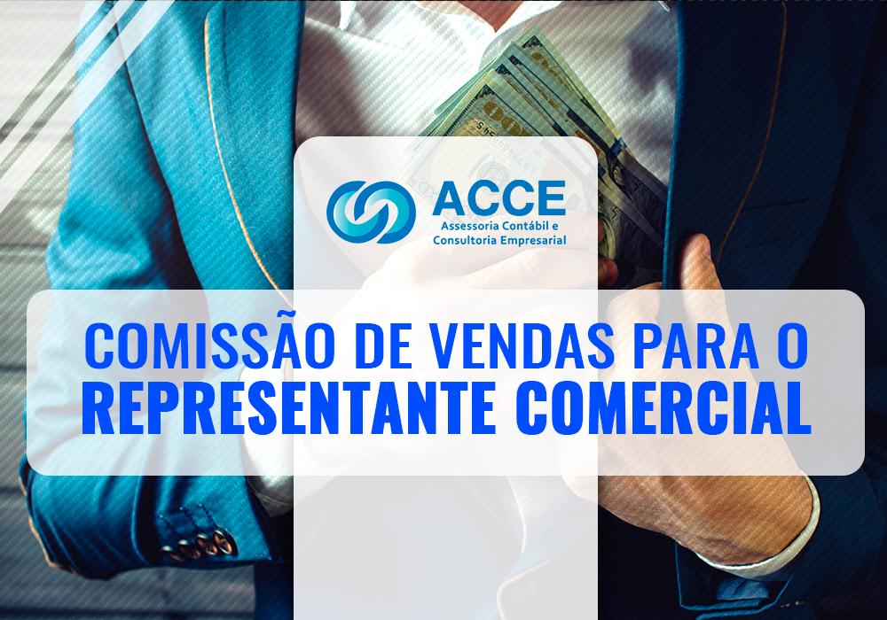 Comissão De Vendas Para O Representante Comercial
