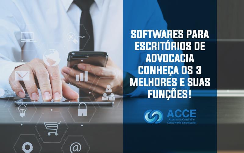 SOFTWARES PARA ESCRITÓRIOS DE ADVOCACIA